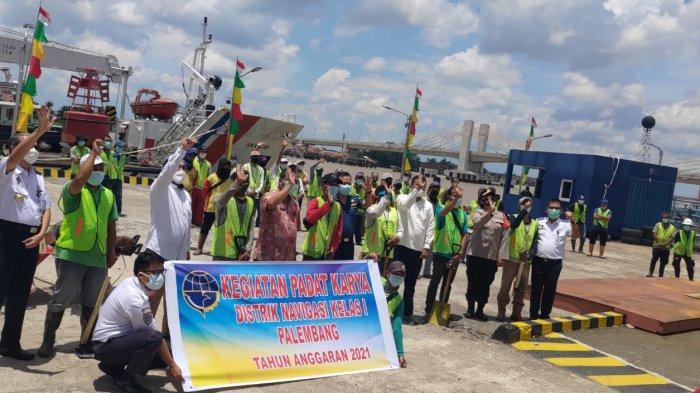 Libatkan Ratusan Masyarakat, Kemenhub dan BUMN Gelar Padat Karya di Empat Provinsi