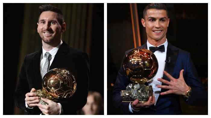 Kehabatan Lionel Messi dan Cristiano Ronaldo di Sepak Bola