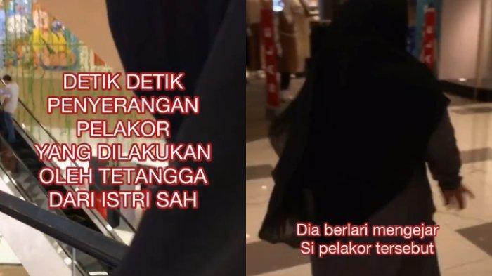 Viral Video Wanita Kejar dan Labrak Pelakor di Mall, Ternyata Hanya Bercanda: Cuma Buat Lucu-lucuan
