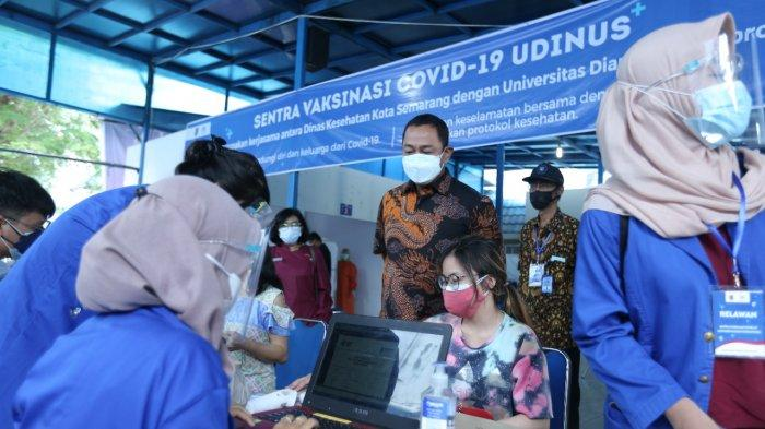 Kejar Target Vaksinasi, Hendi Terus Tambah Sentra Vaksin di Kota Semarang
