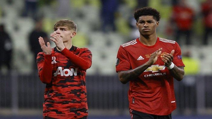 Sudah Jatuh Tertimpa Tangga, Rashford Jadi Korban Rasisme Usai Gagal Bawa United Juara