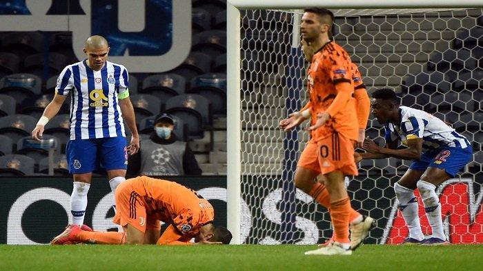 HASIL Porto vs Juventus Liga Champions: Ronaldo Ngamuk Tak Dapat Penalti, Cek Videonya di Sini