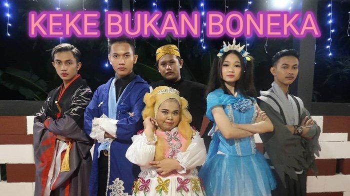 Lagu Keke Bukan Boneka (Youtube channel Rahmawati Kekeyi Putri Cantika)