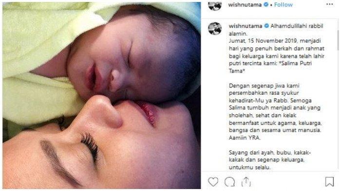 Istri Wishnutama Melahirkan di Hari yang Sama dengan Kelahiran Cucu Ketiga Jokowi