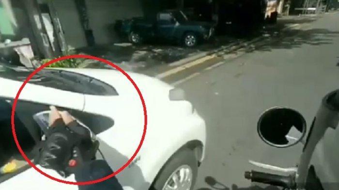 Polisi Sita Honda CBR150R Milik Bocah Perusak Spion Mobil di Bali