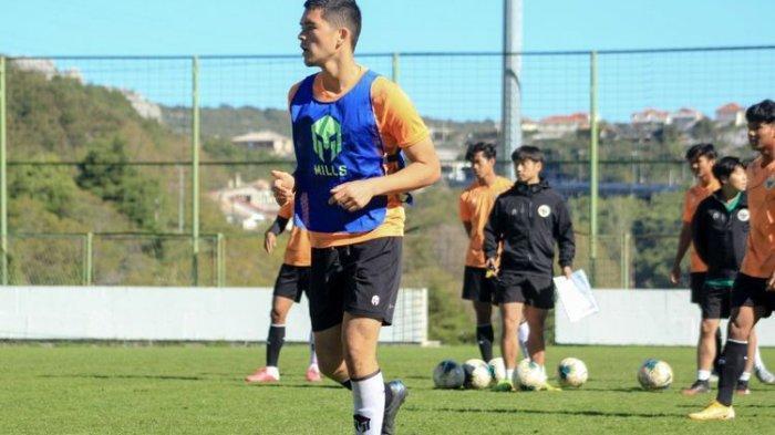 Kelana Noah Mahesa, pemain keturunan Jerman yang dipanggil Shin Tae-yong untuk mengikuti TC timnas U19 Indonesia di Kroasia.