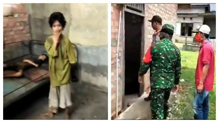 Media sosial diramaikan dengan video dijumpainya dua warga di Kabupaten Muara Enim, Sumatra Selatan dalam keadaan kelaparan.
