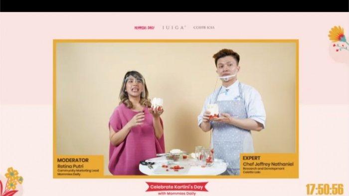 Hari Kartini, IUIGA Berbagi Trik Bikin Dessert dan Strategi Berbisnisnya, Selain Enak Juga Laku