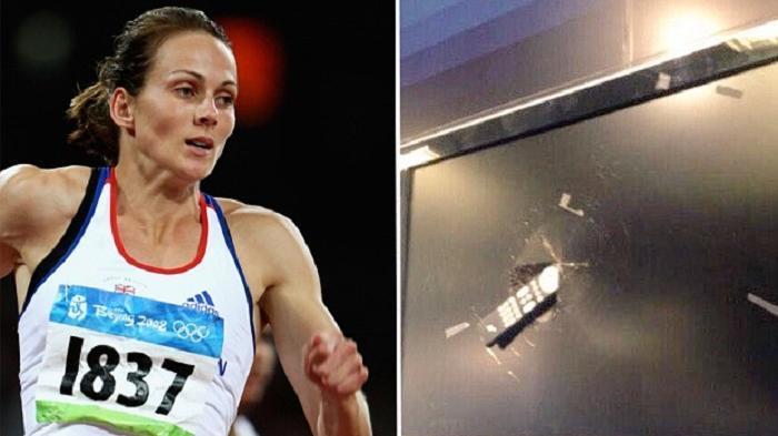 Frustrasi Arsenal Dibantai Barcelona, Wanita Mantan Atlet Inggris Ini Hancurkan Televisi