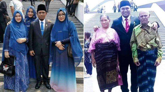 Lora Fadil Bawa 3 Istri, Angelo Wake Keko juga Jadi Sorotan karena Ajak Orangtuanya saat Pelantikan