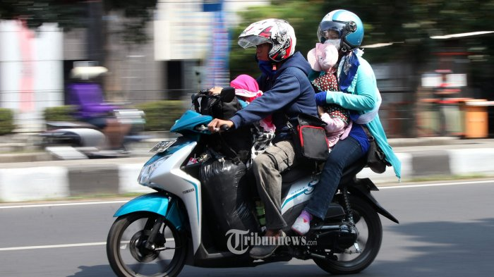 Nekat Mudik, 1.848 Pemotor Diminta Putar Balik Lagi ke Arah Jakarta
