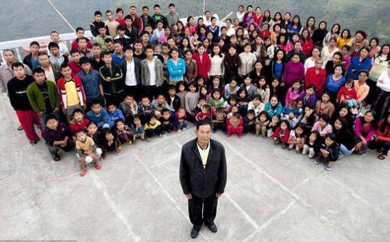Ziona Chana, Kepala Keluarga Terbesar di Dunia Wafat, Tinggalkan 38 Istri, 89 Anak, dan 33 Cucu