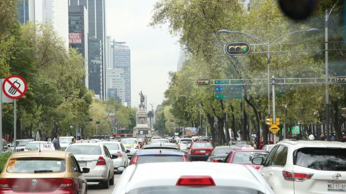 Kemacetan di Meksiko 'Rasa' Jakarta