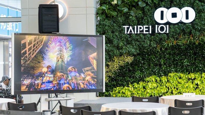 Kembang Api Tahun Baru Taipei 101. Taipei 101 di Taiwan pernah merupakan gedung tertinggi di dunia, bangunannya terdiri dari 101 lantai dengan ketinggian gedung mencapai 508 meter.