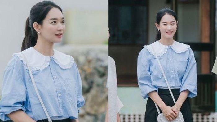 Rekomendasi Kemeja Kerah Lebar seperti yang Dipakai Shin Min Ah di Hometown Cha-Cha-Cha