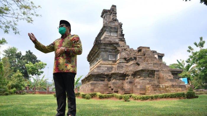 Usai Tinjau Musdes, Mendes PDTT Sempatkan Kunjungi Candi Rimbi di Jombang