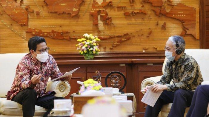 Bertemu UNDP, Gus Menteri Paparkan Soal SDGs dan Pemutakhiran Data Desa