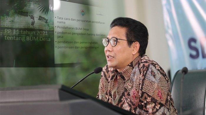 Kemendes PDTT Mulai Proses Pendaftaran BUMDesa