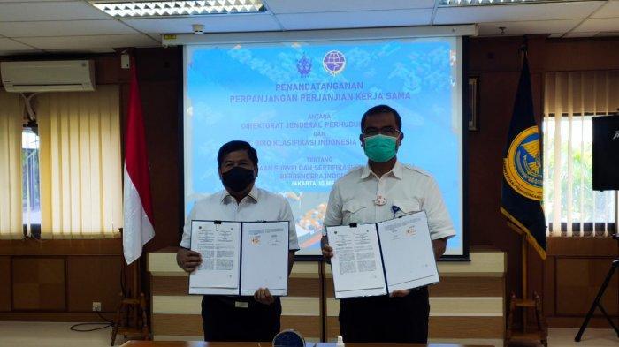 Pemerintah Perpanjang Pelimpahan Kewenangan Sertifikasi Statutoria Kapal kepada BKI