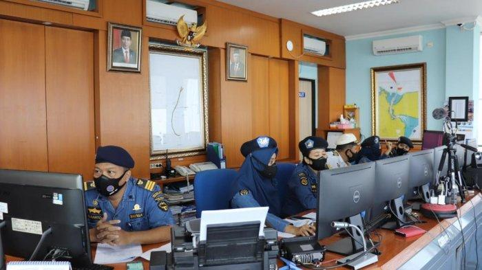 Kemenhub Lakukan Uji Coba Tahap Kedua Penerapan E-Pilotage Service di Surabaya