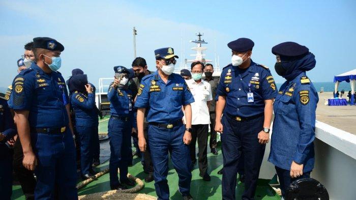 Kemenhub Tingkatkan Penjagaan dan Penegakkan Hukum Terhadap Tindakan Ilegal di Perairan Indonesia