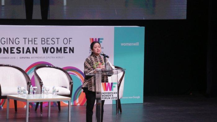 Menko PMK Tekankan Pentingnya Upaya Bersama Untuk Memperkuat Ekonomi Digital Bagi Perempuan