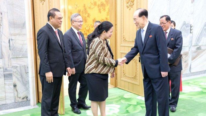 Menko PMK Utusan Khusus Presiden RI Mengundang Korut dalam Asian Games 2018