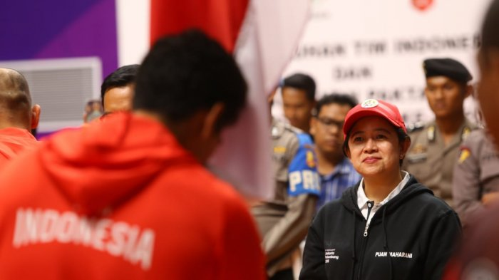 Kukuhkan Tim Indonesia Untuk Asian Games 2018, Menko Puan Minta Atlet Berjuang Sekuat Tenaga