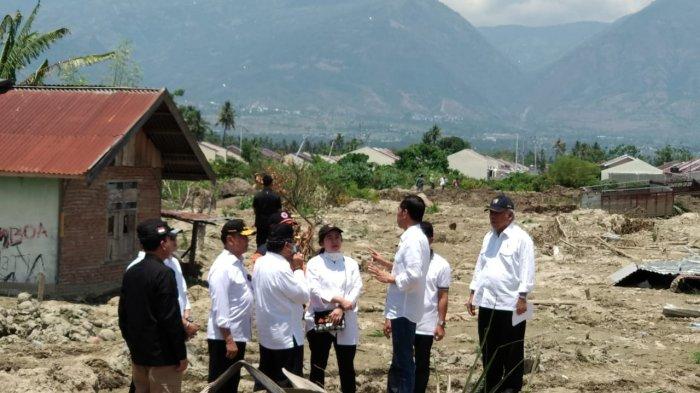 Menko PMK Dampingi Presiden Kunjungi Korban Bencana Sulteng