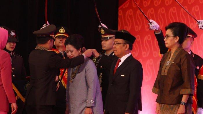 Atas Jasanya Menanggulangi Terorisme, Menko PMK Dianugerahi Bintang Bhayangkara Utama