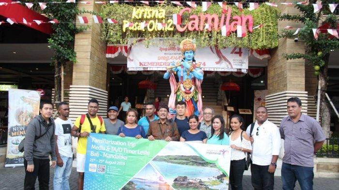 Kuliner Bali Sambut Peserta Famtrip Bali-Mandalika Asal Timor Leste
