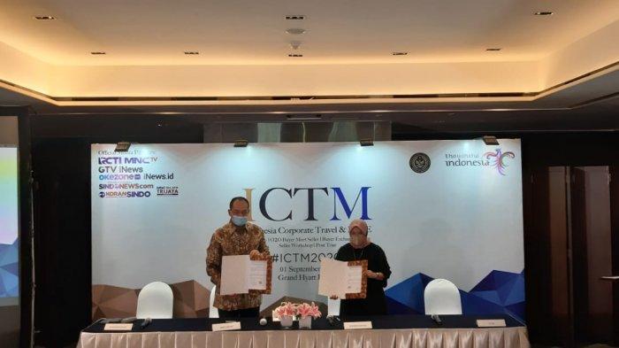 Bangkitkan Pariwisata dan Ekonomi, Kemenparekraf Gandeng Biztrips Teknologi Adakan ICTM