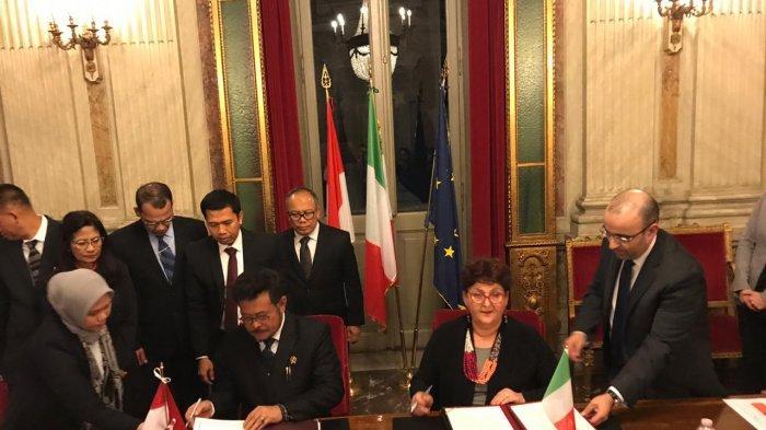 Kunjungan Mentan SYL ke Italia, Sepakati Perluas Akses Produk Pertanian Indonesia