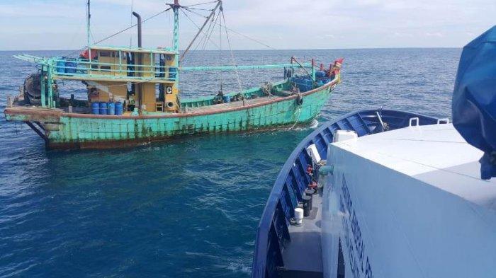 KKP Tangkap Kapal Ikan Ilegal Asal Malaysia