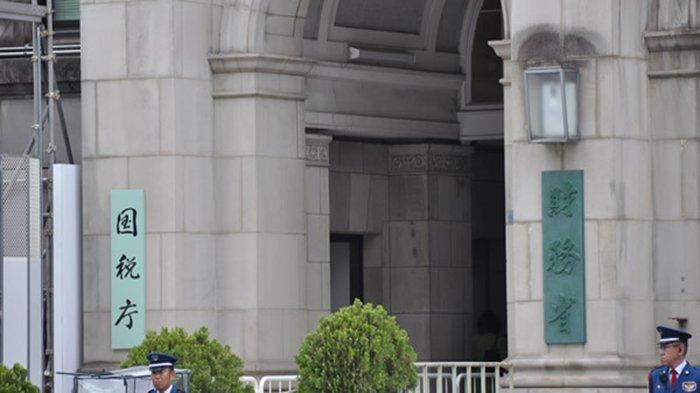 Kementerian Keuangan Jepang di Kasumigaseki Tokyo.