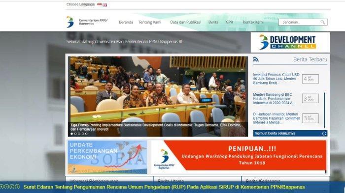 Rekrutmen Tenaga Konsultan di Kementerian PPN/Bappenas, Pendidikan Minimal S2 Ilmu Hukum