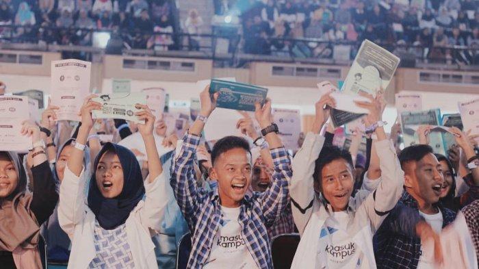 ILUSTRASI - Kemeriahan acara Try Out SBMPTN MasukKampus Chapter IPB, Sabtu (4/1/2020) di Graha Widya Wisuda, Institut Pertanian Bogor.