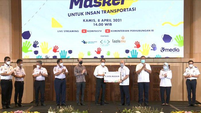 Kemenhub Kirim 2 Juta Masker dan Sembako untuk Insan Transportasi Seluruh Indonesia
