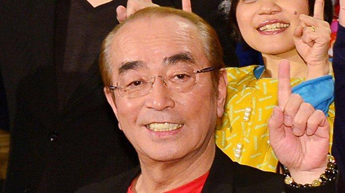 Ken Shimura (70) komedian terkenal di Jepang meninggal dunia, Minggu (29/3/2020) malam.