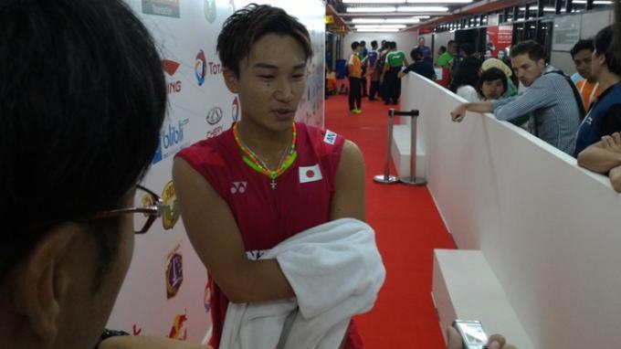 Kento Momota tak Gentar Hadapi Pebulutangkis Kuat di Kejuaraan Dunia