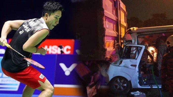 Kento Momota Kecelakaan di Malaysia hingga Tewaskan Sopir, Menpora Malaysia Kabarkan Kondisi Atlet