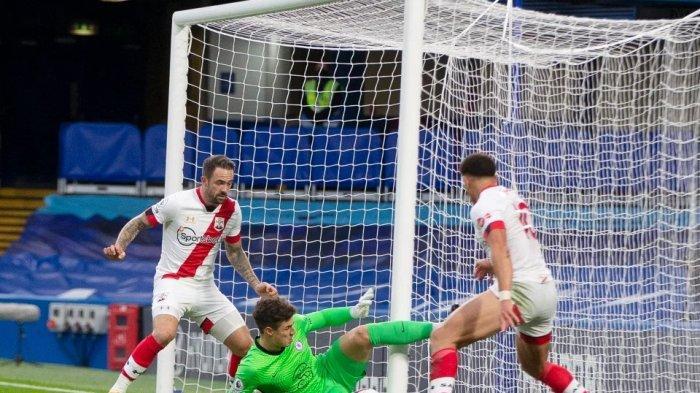 Video Blunder Kepa Arrizabalaga yang Buat Dua Gol Menakjubkan Timo Werner Jadi Sia-sia