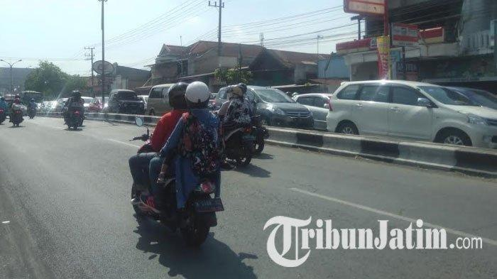 H+3 Lebaran, Jalur Arteri Singosari Menuju Jalan Tol Malang-Pandaan dan Kota Batu Alami Kepadatan