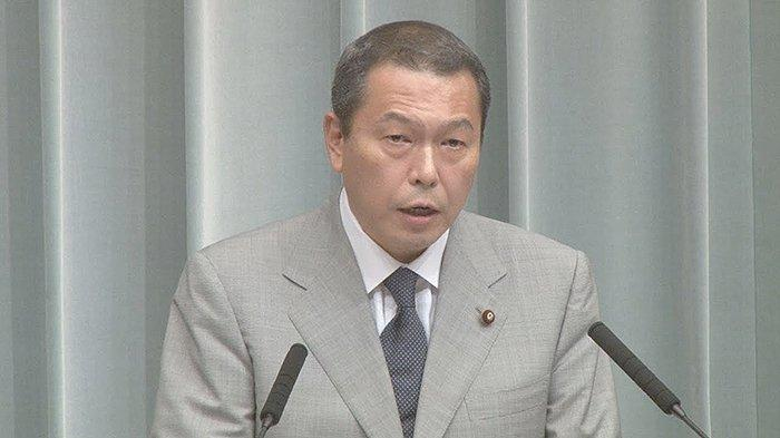 Kepala Badan Keamanan nasional Jepang (intelijen), Hachiro Okonogi.