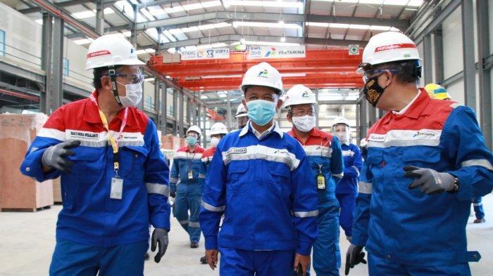 Kepala BKPM Tinjau Proyek Pertamina di Balikpapan untuk Kawal Pembangunannya