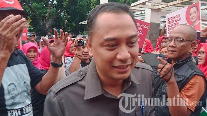Resmi Diusung PDIP di Pilkada Surabaya, Eri Cahyadi Mundur dari ASN Pemkot