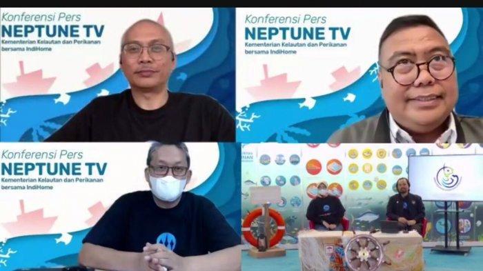 Sajikan Informasi Mendalam Sektor Kelautan dan Perikanan, IndiHome Resmi Siarkan NeptuneTV KKP