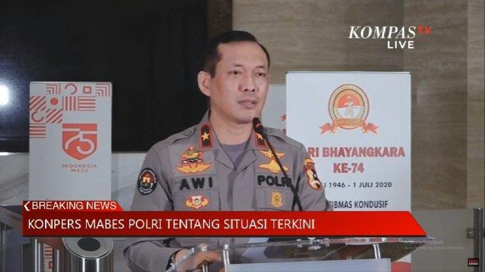 Kepala Biro Penerangan Masyarakat Divisi Humas Polri Brigjen (Pol) Awi Setiyono