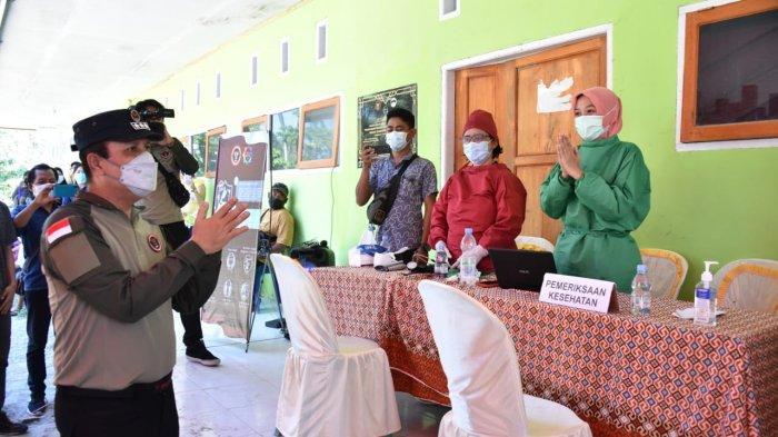 Komjen Boy Rafli Amar Pantau Pelaksanaan Vaksinasi Covid-19 di Tentena Sulteng