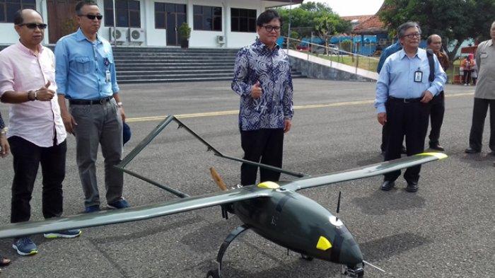 BPPT Uji Coba Pemetaan Udara Jalur KA Cirebon-Tegal